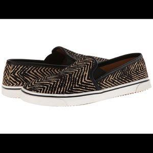 Dolce Vita neutral print slip on sneakers